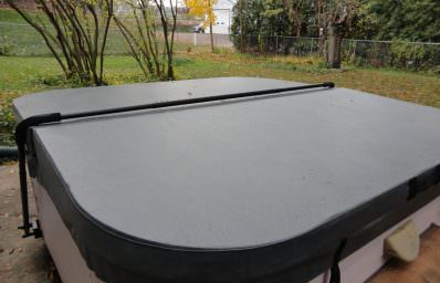 new hot tub cover by the cover guy