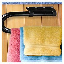Spa Side Towel Rack
