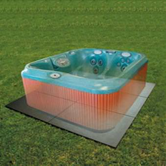 hot tub pad