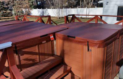 Oversized Custom Hot Tub Covers