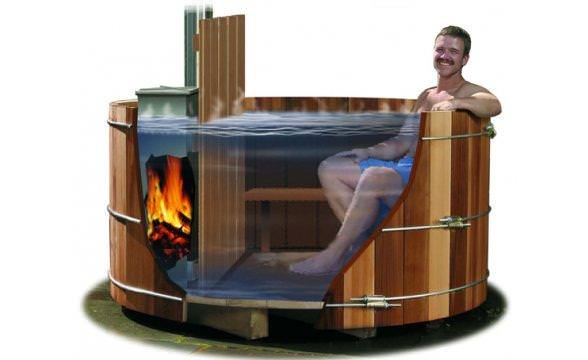 How To Build A Wood Fired Hot Tub The Cover Guy