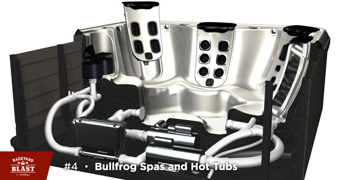 Bullfrog Spas and Hot Tubs