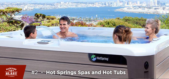 Hot Springs Spas and Hot Tubs