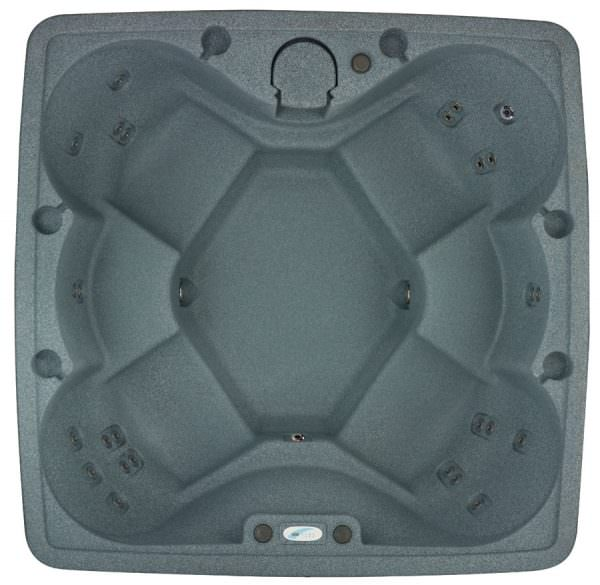 Aquarest Premium 600 graystone top view