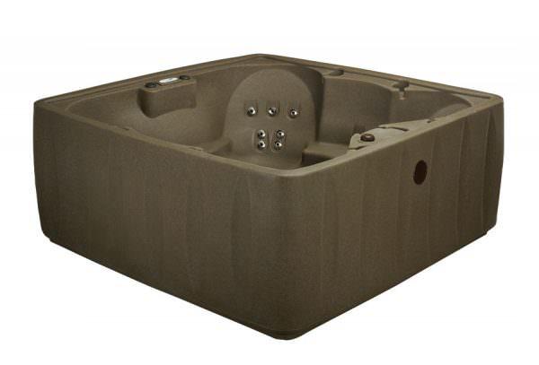 Aquarest premium 600 brownstone side view