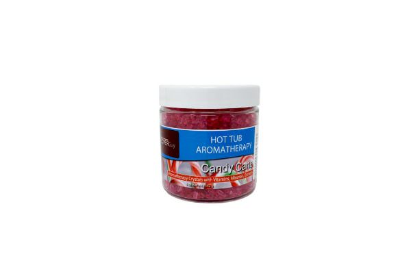 aromatherapy crystals candy cane